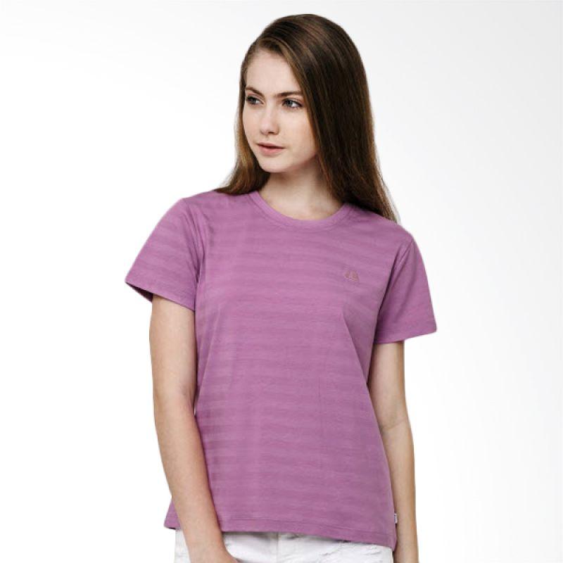 League Essential Crew Purple Kaos Wanita