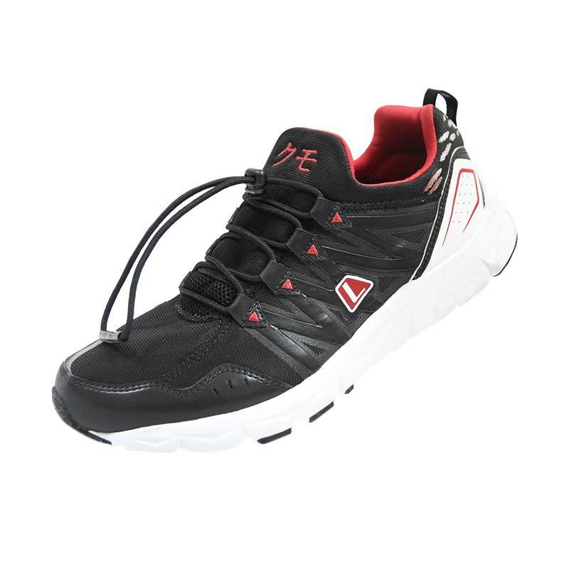 harga League Kumo M Hitam - Merah Sepatu Running Blibli.com