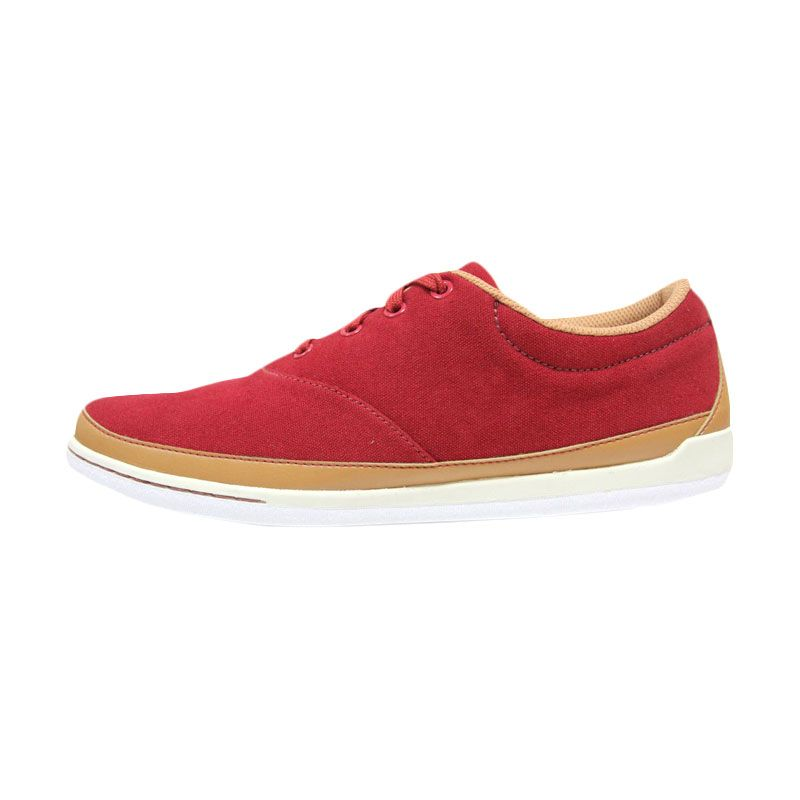 League Maple Vibe Sneakers Red - Brown