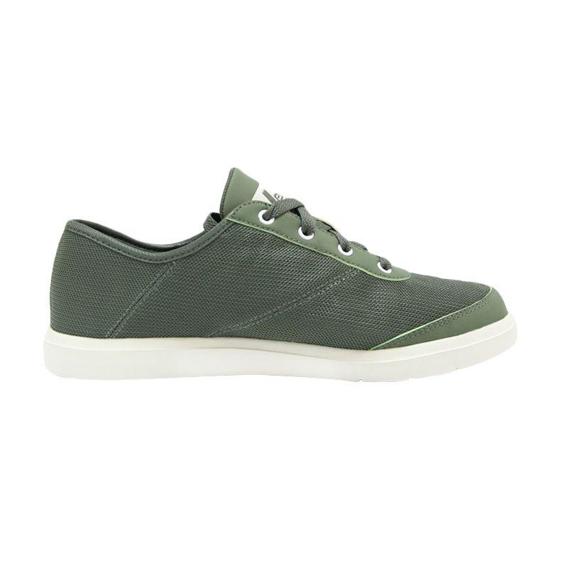 League Nu J-Street Green White Sepatu Pria