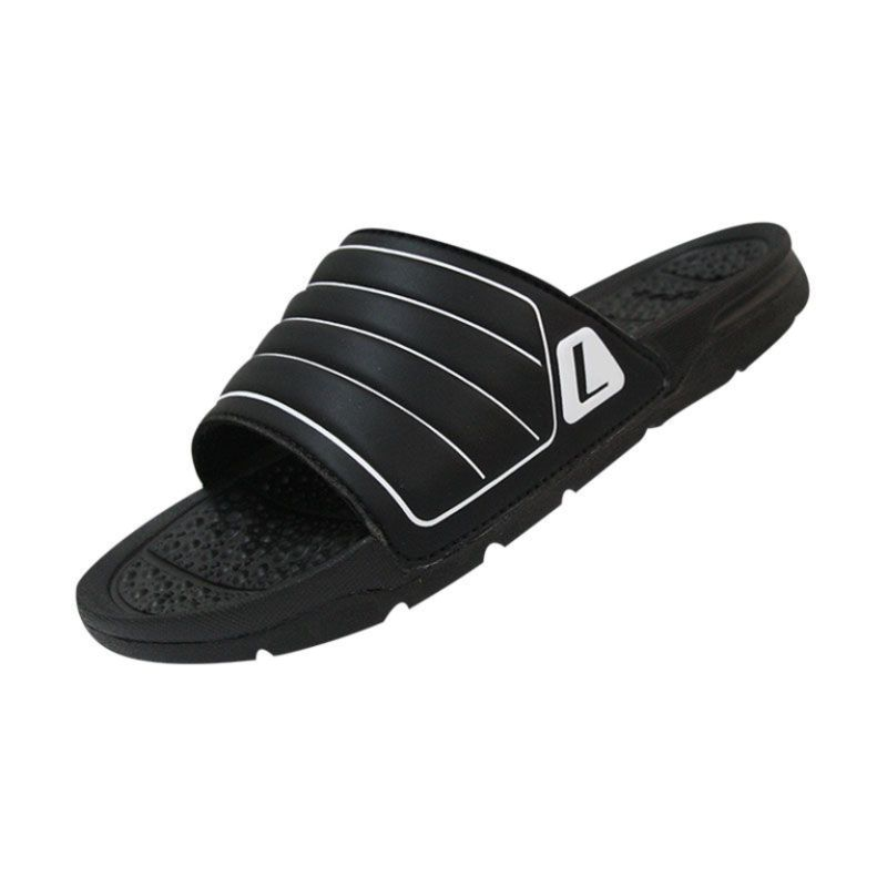 League Sandal Tres Black White