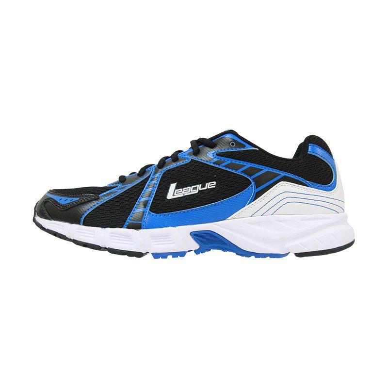 League Stingray Blue Sepatu Lari Pria