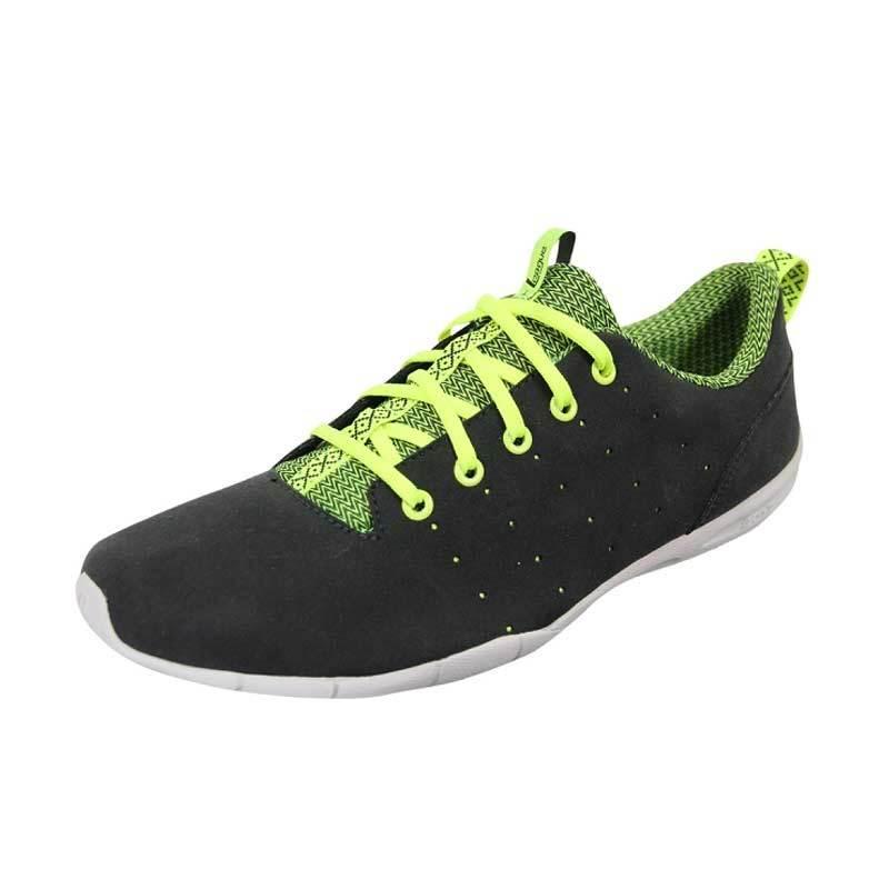 League Stride Trainer Black Green Sepatu Pria