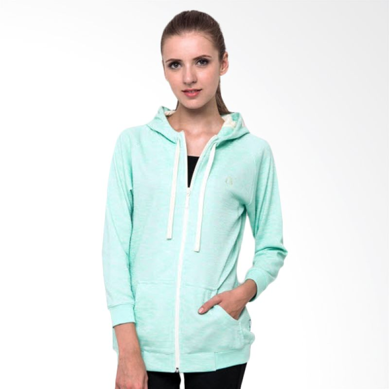 harga League Sweater Hoodie Knit Blue Jaket Wanita Blibli.com