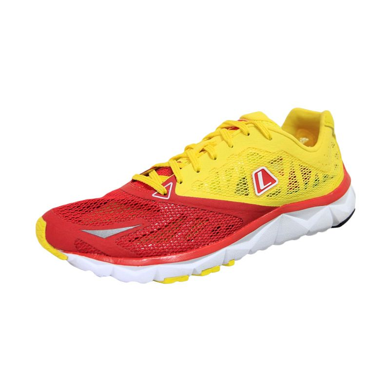 League Volans 2M Red Yellow Sepatu Lari
