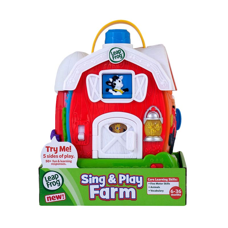 LeapFrog 107454 Sing and Play Farm Mainan Anak