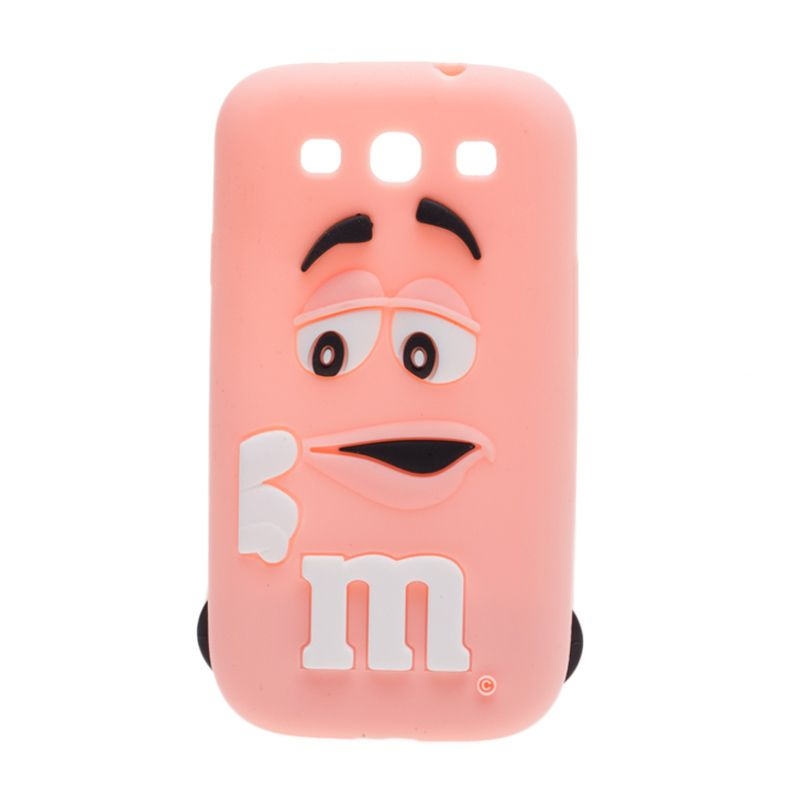 Cokelat M Soft Pink Casing for Galaxy S3
