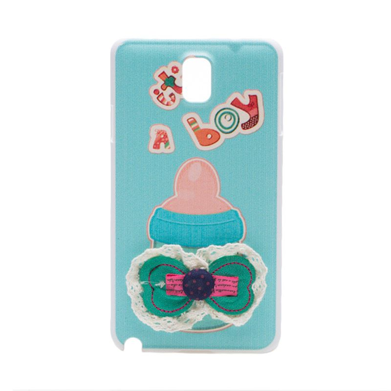 Fashion Case A Boy Ribbon Casing for Samsung Note 3