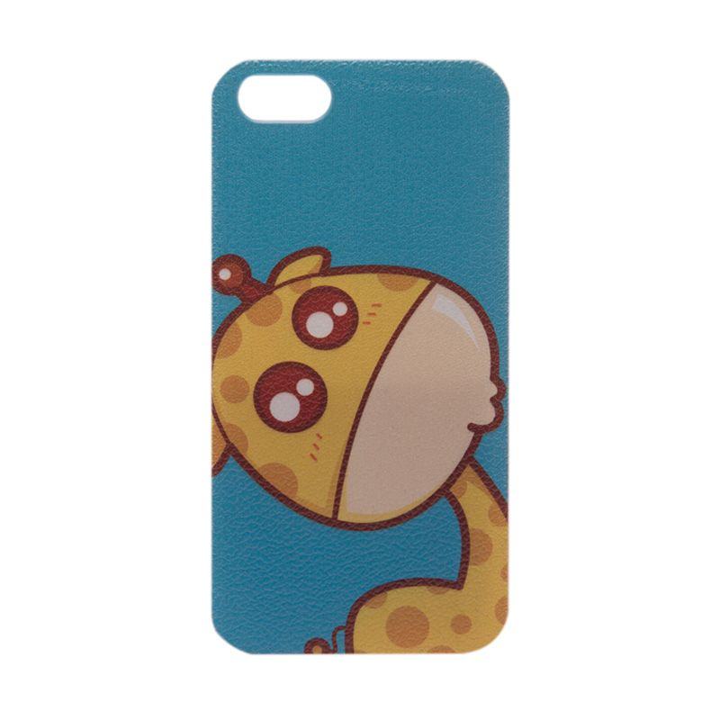 LED Sign Cutie Giraffe Blue Casing for iPhone 5 or 5s