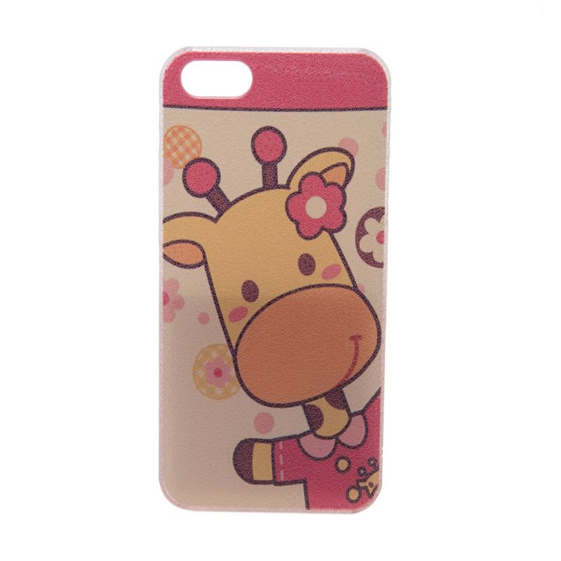 LED Sign Cutie Giraffe Girl Casing for iPhone 5 or 5s