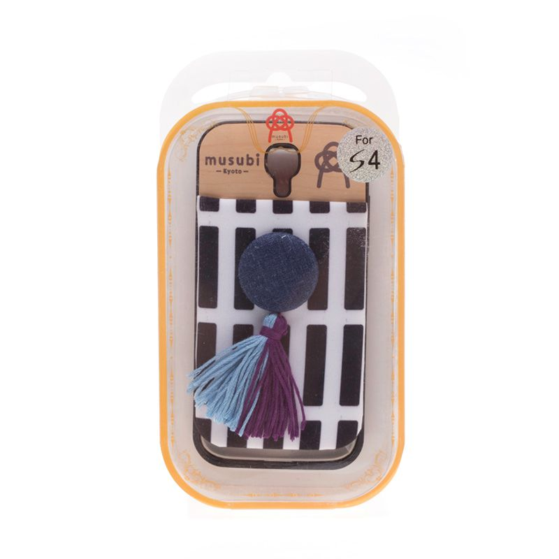 Musubi Kyoto Tassels Blue Casing For Galaxy S4