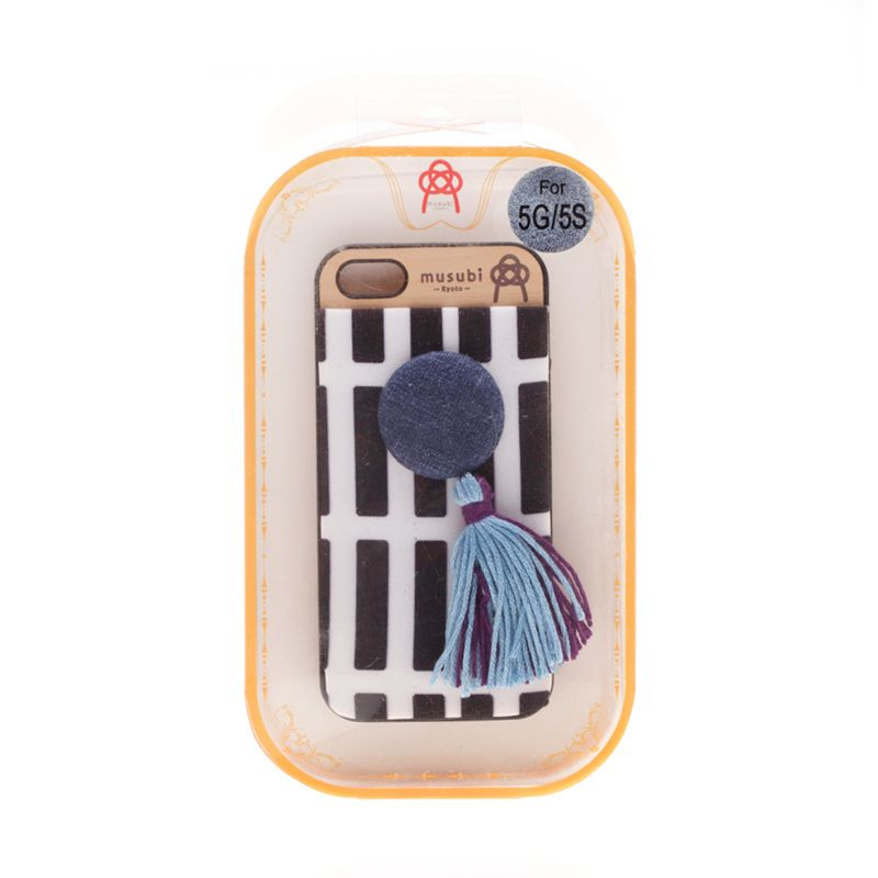 Musubi Kyoto Tassels Blue Casing For iPhone 5 or 5s