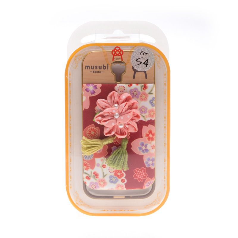 Musubi Kyoto Flower Pink Casing For Galaxy S4