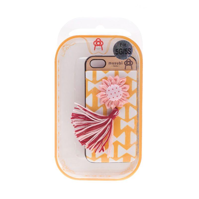 Musubi Kyoto Ribbon Pink Polkadot Casing For iPhone 5 or 5s