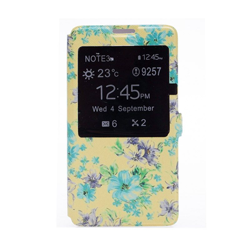 My Colors Flowers Vintage Yellow Casing for Samsung Note 3