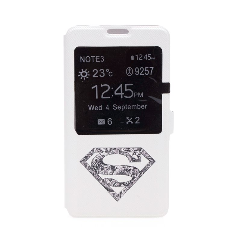 My Colors Superman White Casing for Samsung Note 3