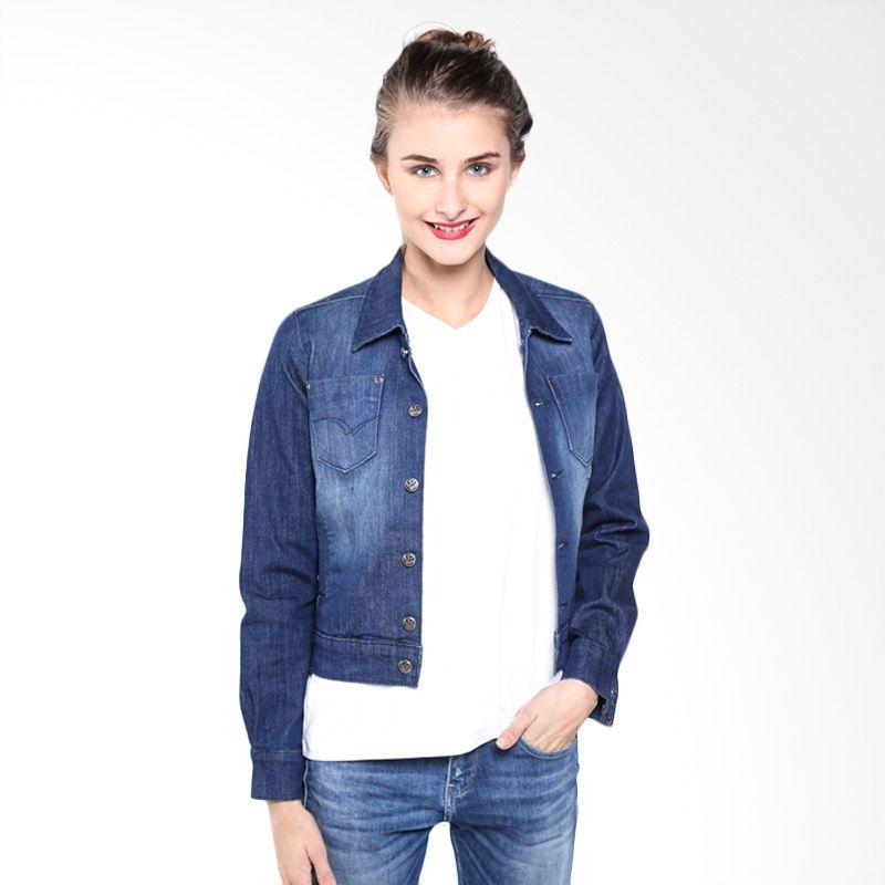 Lee Cooper Denim Eva A3SEV1R1421D D.Indigo Jacket