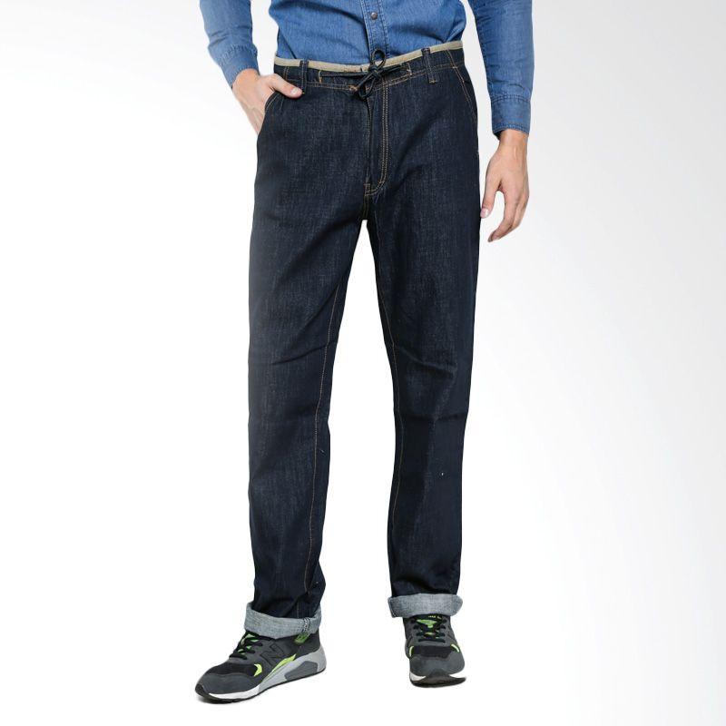 Lee Cooper Denim Wayne A3AWN111421G Dark Indigo Celana Jeans Pria