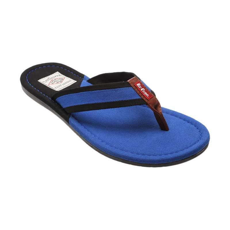 Lee Cooper LC - 02A A9U02340001F Blue Black Sandal Pria