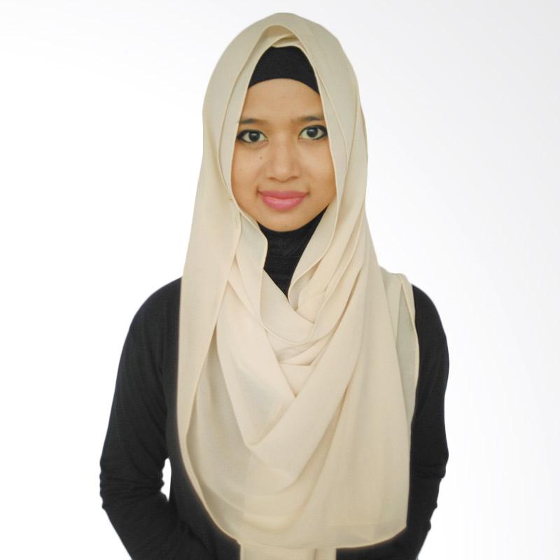 Lee Deluxe Cream Hijab