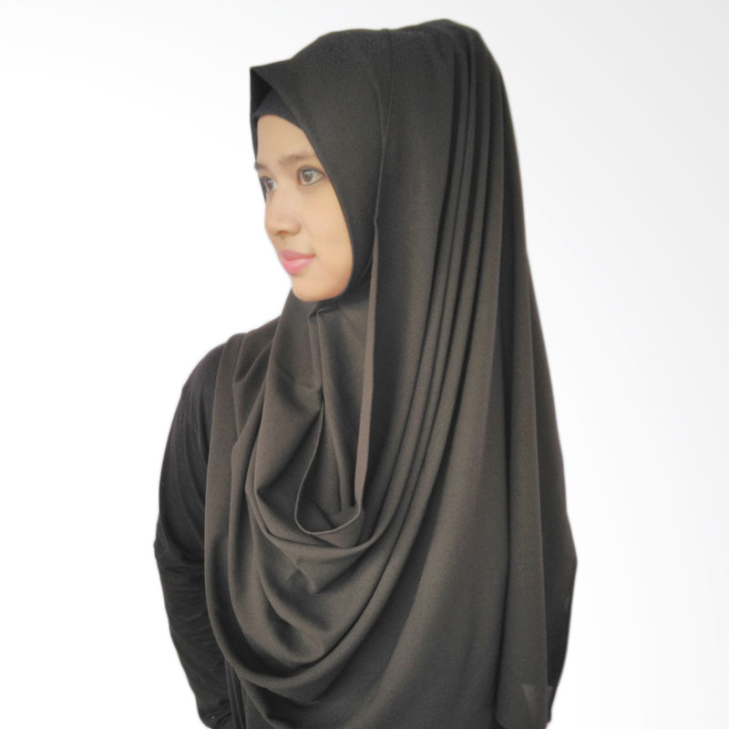 LeeCuini Pasmina Lee Diamond Hijab - Black