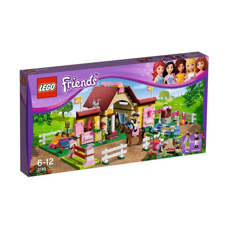 LEGO_MAINAN_ANAK_CERDAS: Lego Friends 3189 Heartlake Stables