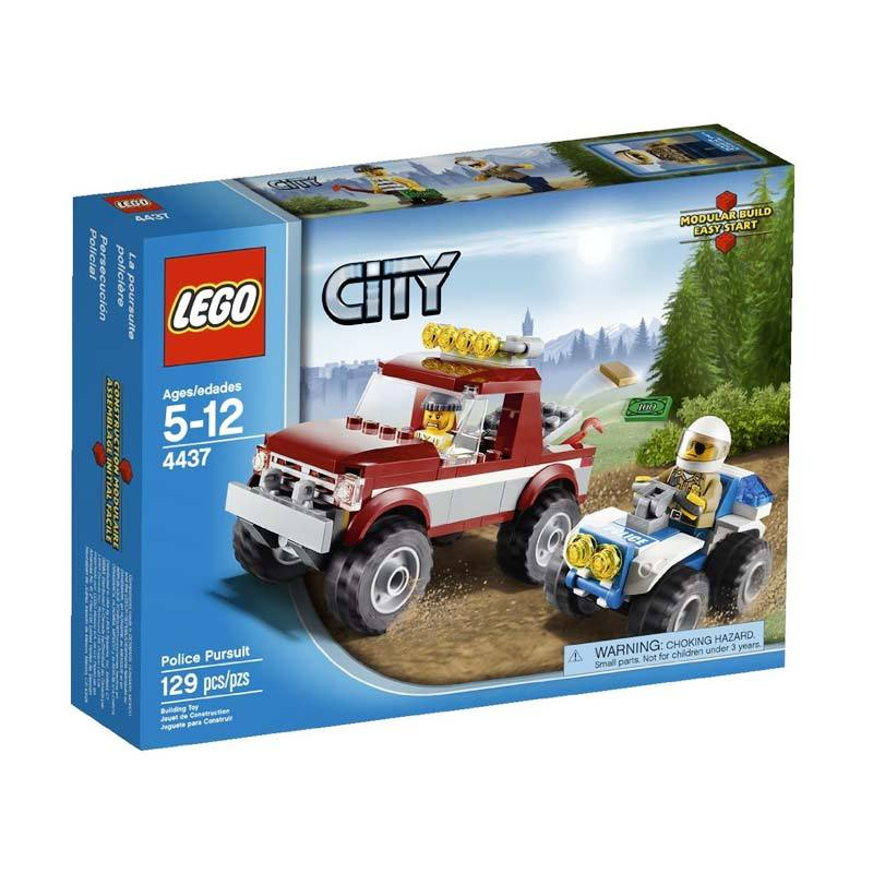 LEGO 4437 Police Pursuit Mainan Anak