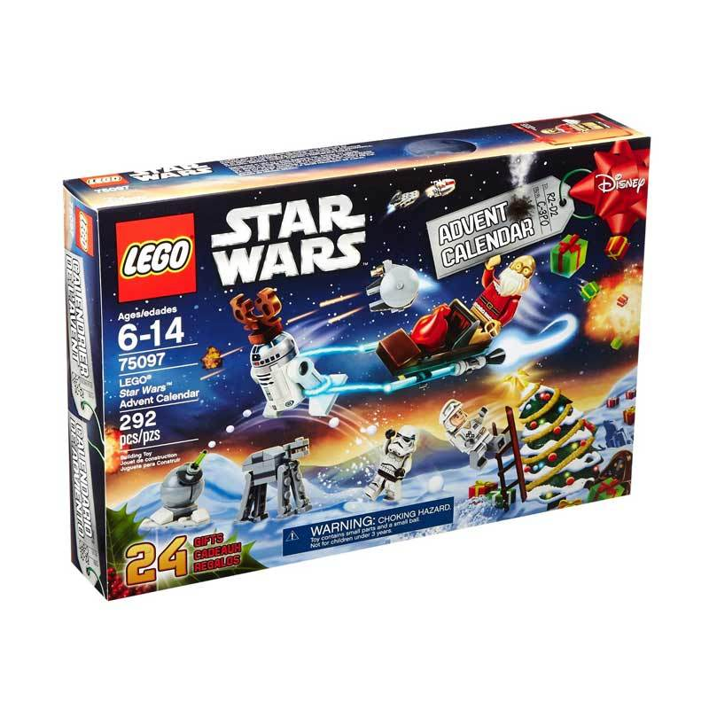 LEGO 75097 LEGO Star Wars Advent Calendar Mainan Anak