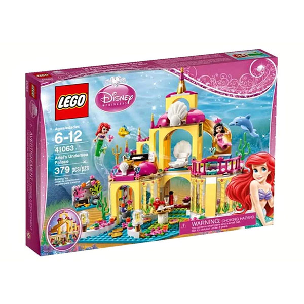 LEGO Ariel's Undersea Palace 41063 Mainan Blok & Puzzle