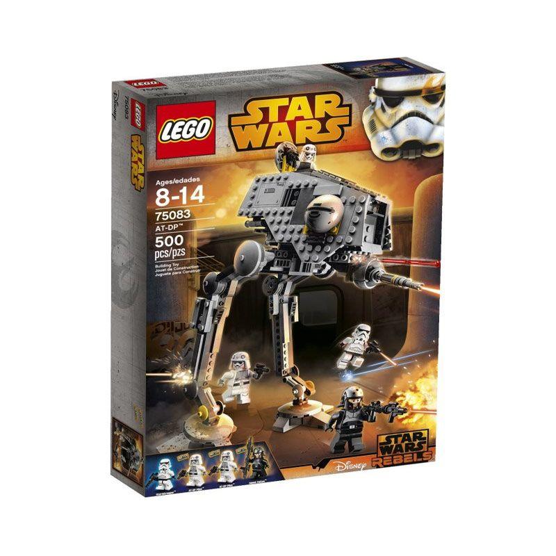 LEGO AT-DP Pilot 75083 Mainan Blok dan Puzzle