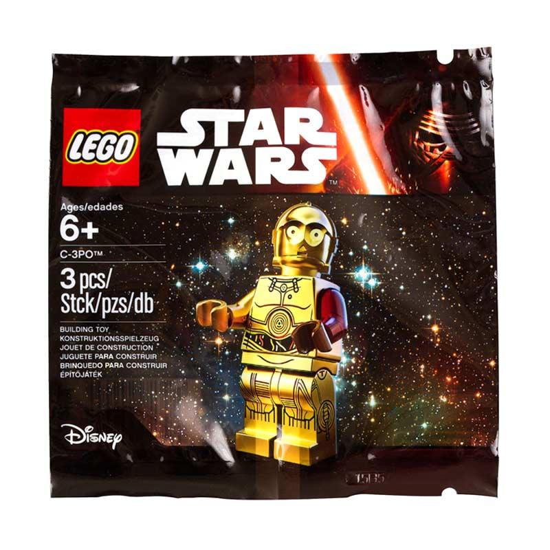 LEGO C-3PO 5002948 Mainan Blok dan Puzzle