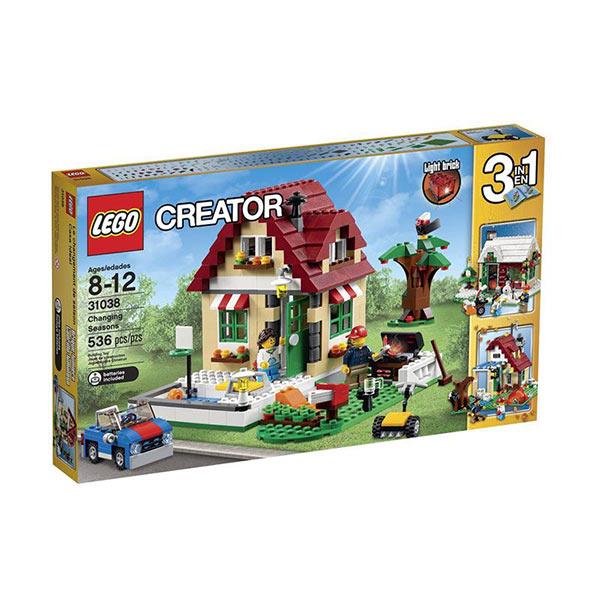 LEGO Changing Seasons 31038 Mainan Blok & Puzzle