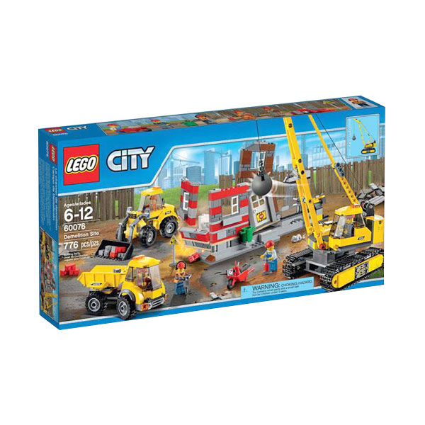 LEGO City 60076 Demolition Site Mainan Anak