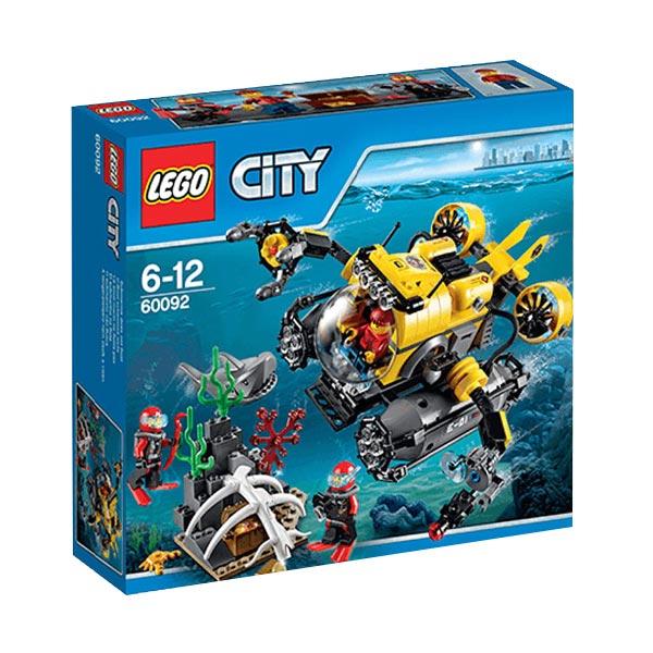 harga LEGO City 60092 Deep Sea Submarine Mainan Blok dan Puzzle Blibli.com