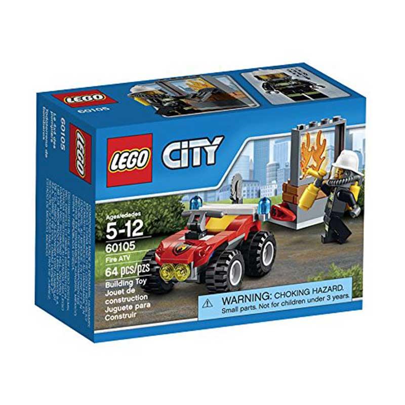 harga Lego City Fire ATV  60105 Mainan Blok dan Puzzle Blibli.com