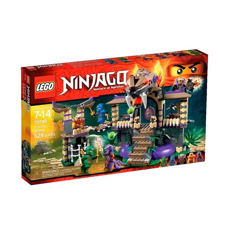 LEGO Enter the Serpent 70749 Mainan Blok Dan Puzzle