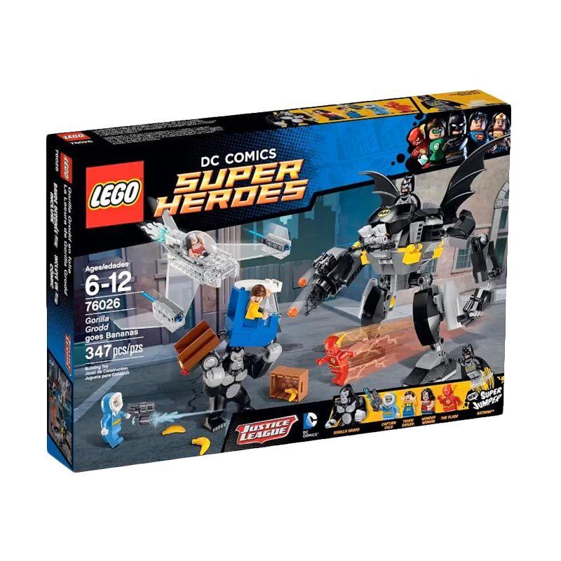 LEGO Gorilla Grodd Goes Bananas 76026 Mainan Blok Dan Puzzle