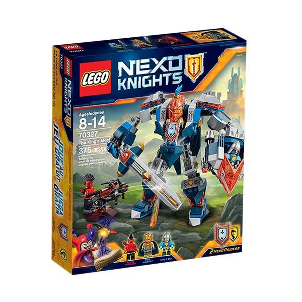 LEGO Nexo Knights 70327 The King's Mech Mainan Blok & Puzzle