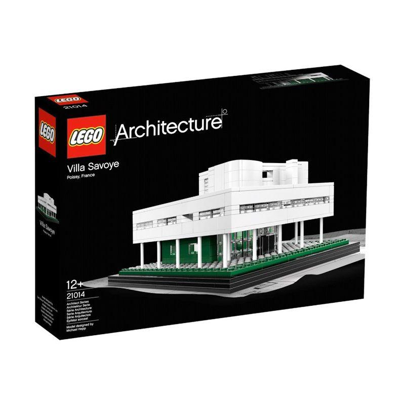 LEGO Villa Savoye 21014 Mainan Blok & Puzzle
