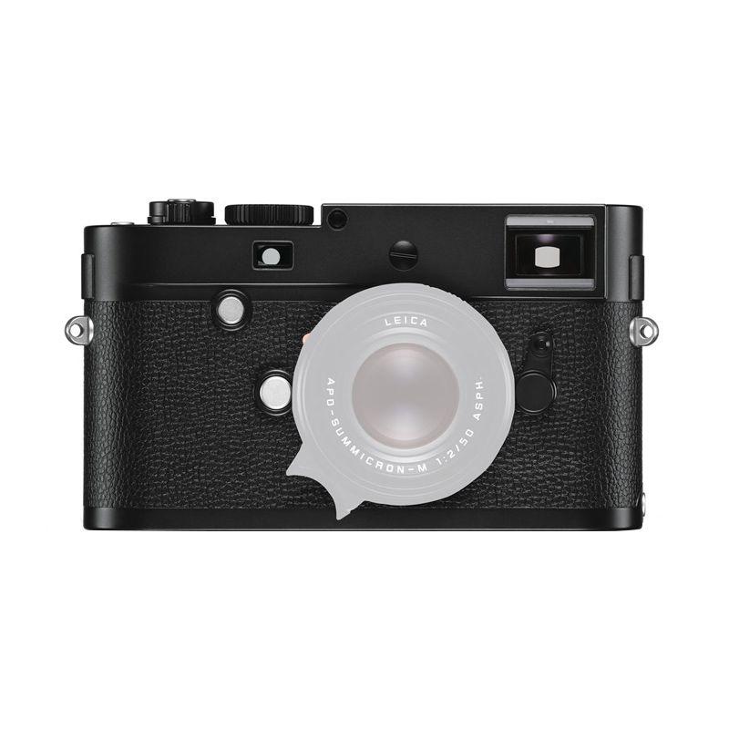 Leica M Monochrom Type 246 Hitam Kamera Mirrorless