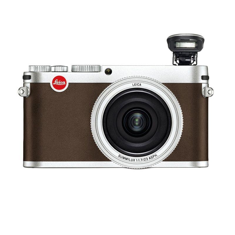 Leica X TYP 113 Summilux 23mm f/1.7 ASPH Silver Kamera Digital