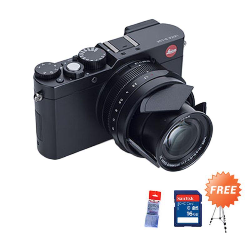 Leica TYP 109 D-Lux Kamera Digital  + silicagell + sdhc 16GB + Tripod promos