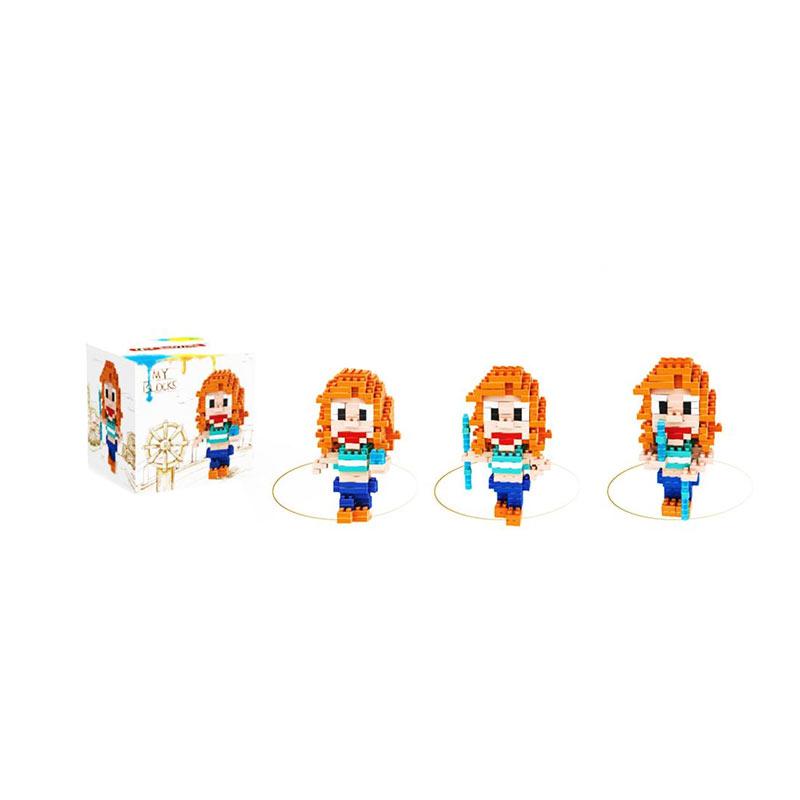 LELE Brother 6169 Nami One Piece Mainan Blok & Puzzle
