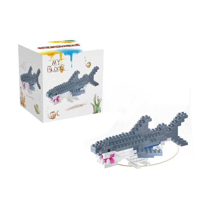 Lele Brother 8151 Shark Mainan Blok dan Puzzle