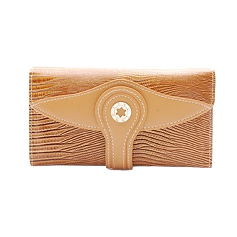 Leno Laurel Brown Dompet Wanita