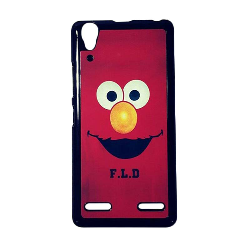 reputable site 8db94 c5502 SL Case Custom Elmo Hardcase Casing for Lenovo A6000 - Black