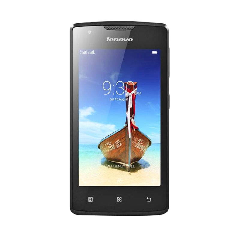 Lenovo A1000 Smartphone - Hitam [8GB/ 1GB]