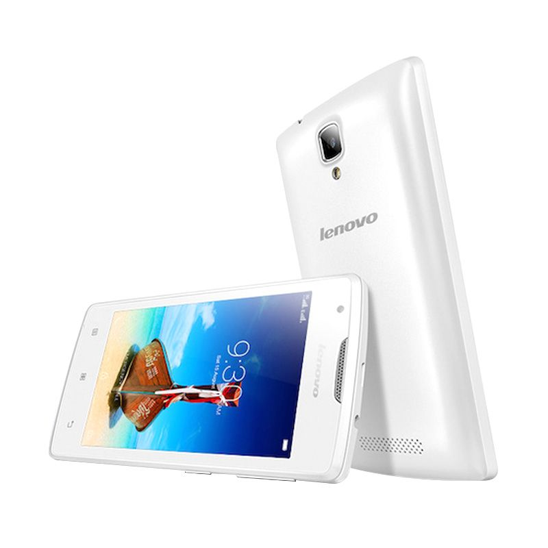 Lenovo A1000 Smartphone - White [8GB/ 1GB]
