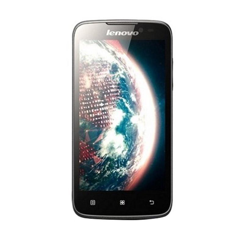 Lenovo A516 Smartphone - Hitam [4GB]