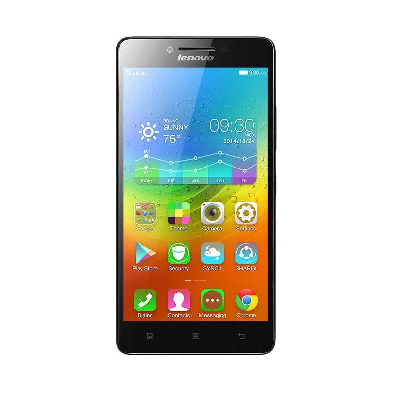 Lenovo A6000 Smartphone - Black [8GB/ 1GB]